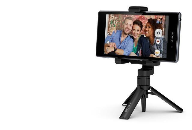Rcenzja sony smartphone tripod spa-mk20m statyw telefon zdjęcie
