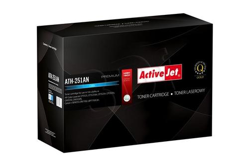 ActiveJet ATH-251AN cyan toner do drukarki laserowej HP (zamiennik 504A CE251A) Premium