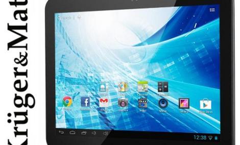 Nowy 10 calowy tablet Kruger&Matz pozwoli robić zdjęcia i nagrania w lepszej jakości