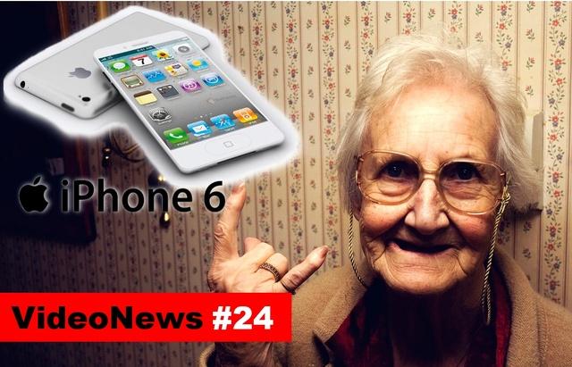VideoNews #24 - Apple iPhone 6, czy go polubisz...?