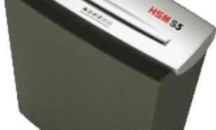 HSM Shredstar S5