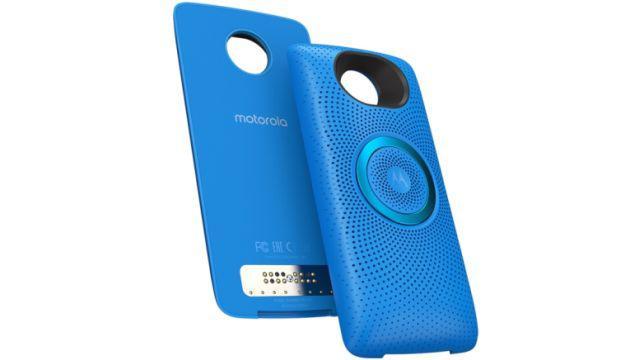 Moto Stereo Speaker - Nowy moduł dla smartfonów z rodziny Moto Z