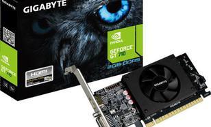 Gigabyte GT710 2GB DDR5 64BIT DVI/HDMI/Low Profile
