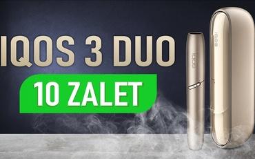 10 zalet przejścia na IQOS 3 Duo