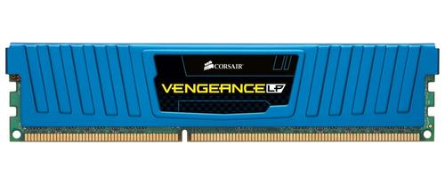 Corsair DDR3 4GB/1600 (2*2GB) VENGEANCE CL9-9-9-24 Low Profile Blue Heatspreader