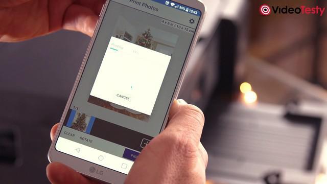 Epson L4160 - aplikacja mobilna