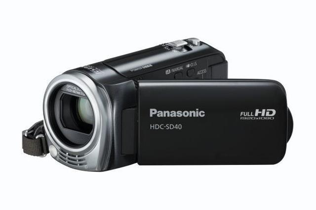 Panasonic HDC-SD40 - elegancka kamera cyfrowa ze sporym zoomem