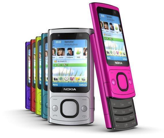 Nokia 6700 slide
