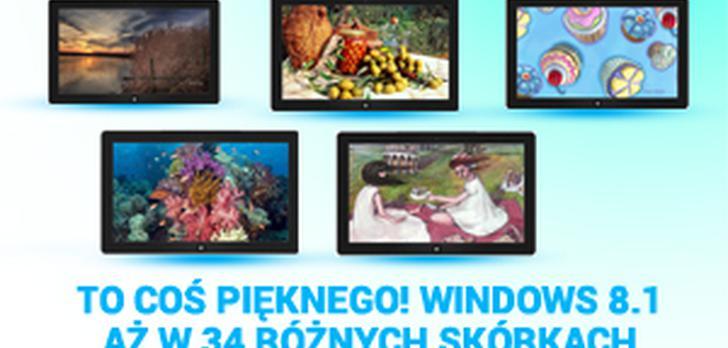 Coś Pięknego! Windows 8.1 w aż 34 Różnych Skórkach