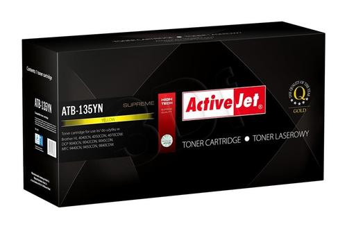 ActiveJet ATB-135YN toner Yellow do drukarki Brother (zamiennik Brother TN-135Y) Supreme