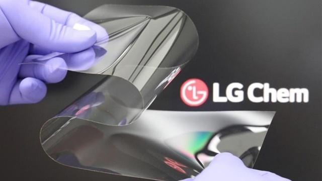LG Chem chce ulepszyć elastyczne ekrany