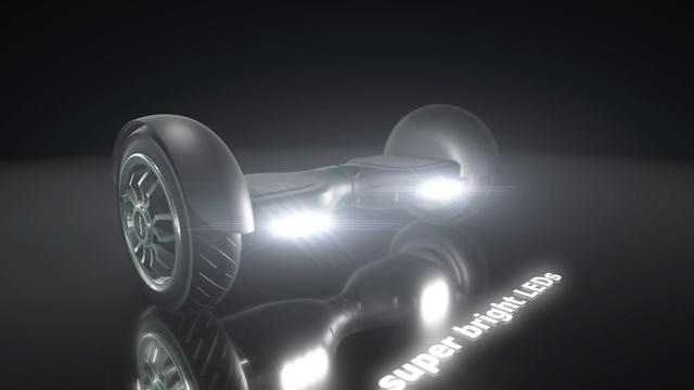 podświetlenie led w balance scooter outdoor cruiser