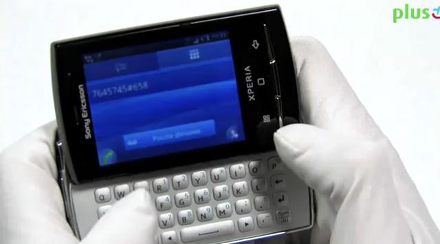 Prezentacja telefonu Sony Ericsson Xperia X10 Mini Pro