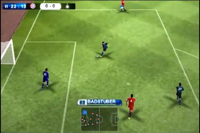 PES 2011 - prezentacja gry pod Androida