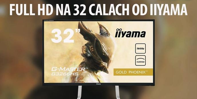 Recenzja iiyama G-Master G3266HS-B1 - 32-calowy Monitor Dla Graczy