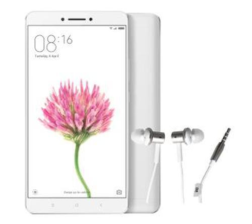 Xiaomi Mi Max 32 GB (srebrny) + słuchawki