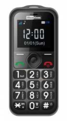 Maxcom MM 560 BB Poliphone/Big button szary (MAXCOMMM560BBGRAY)