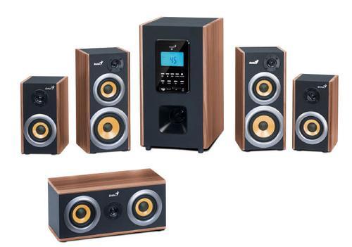 Genius Głośniki SW-HF5.1 5200 150W Wood