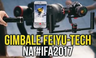 Gimbale od FeiyuTech na #IFA2017