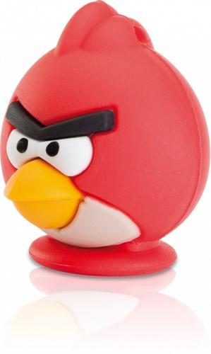 EMTEC Pendrive 8GB Angry Birds Red Bird AS100