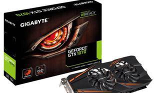 Gigabyte GTX1070 8GB DDR5 256BIT 2DVI/HDMI/3DP