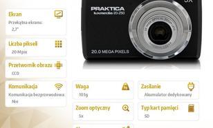 Praktica Luxmedia 20-Z50 czarny