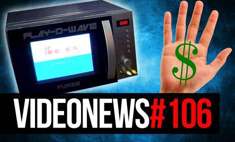 Konsola Z Mikrofalówki, Nowy Samsung Galaxy S8 i Płatności Dłonią - VideoNews #106