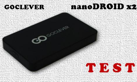 GoClever nanoDroid x2 test i recenzja [RECENZJA]