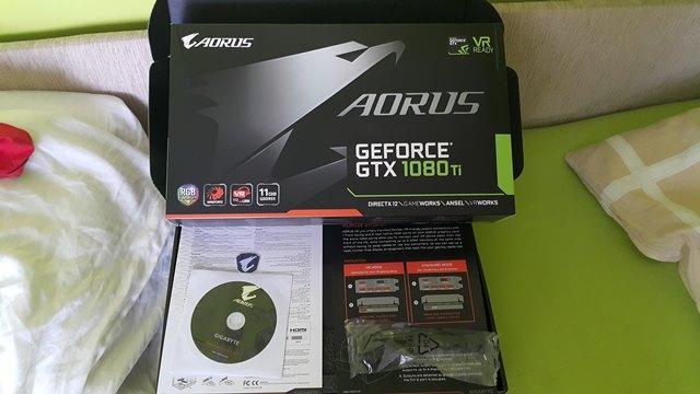Gigabyte GTX 1080Ti Aorus pudełko