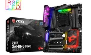 MSI X99A GAMING PRO CARBON DDR4 RAID/USB3.1 ATX