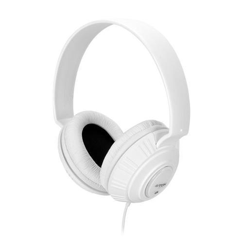 TDK Słuchawki MP100 DJ Style białe