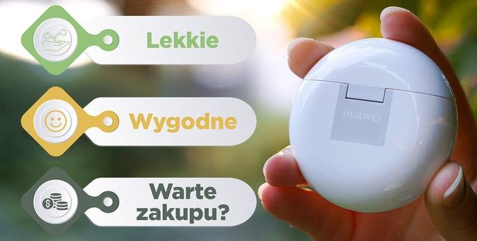 Lekkie, zgrabne i lepsze - Oto Huawei Freebuds 4