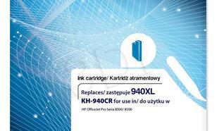 Actis KH-940CR tusz cyan do drukarki HP (zamiennik HP 940XL C4907AE) Standard