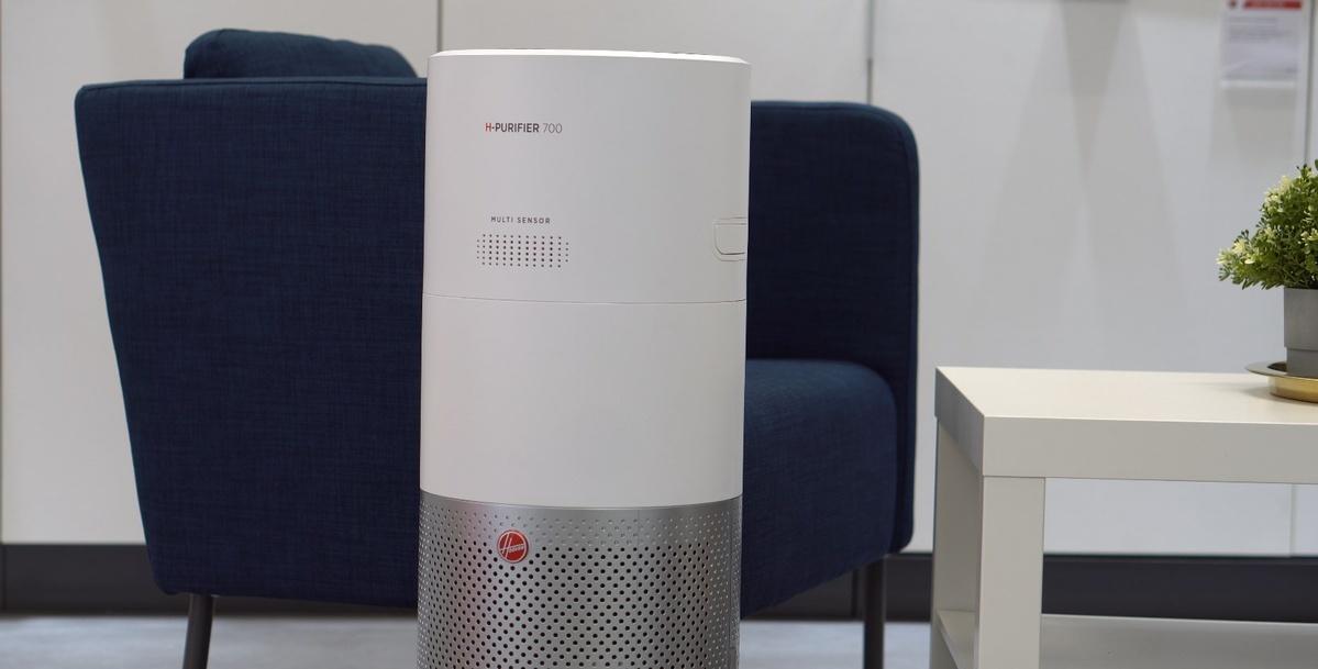 Hoover H-Purifier 700 potrafi oczyszczać pomieszczenia bezszelestnir