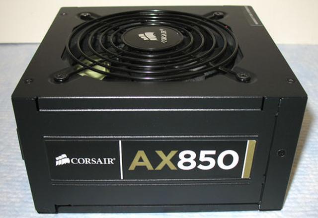 Corsair AX850 - zasilacz komputerowy z wieloma zaletami