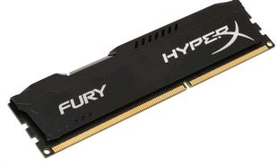 Kingston HyperX FURY Black DDR3 DIMM 4GB 1333MHz (1x4GB) HX313C9FB/4