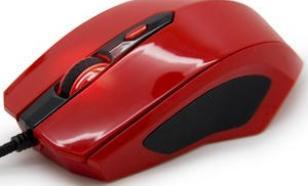 Ozone Xeonon Czerwona Mysz optyczna dla graczy 3500dpi (avago)