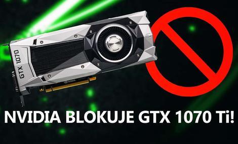 Nadchodzący GTX 1070 Ti ma Mieć Zablokowane Zegary!