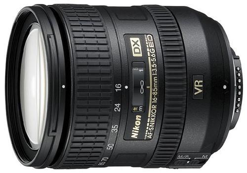 Nikon Obiektyw NIKKOR 16-85mm f/3.5-5.6G ED AF-S VR DX