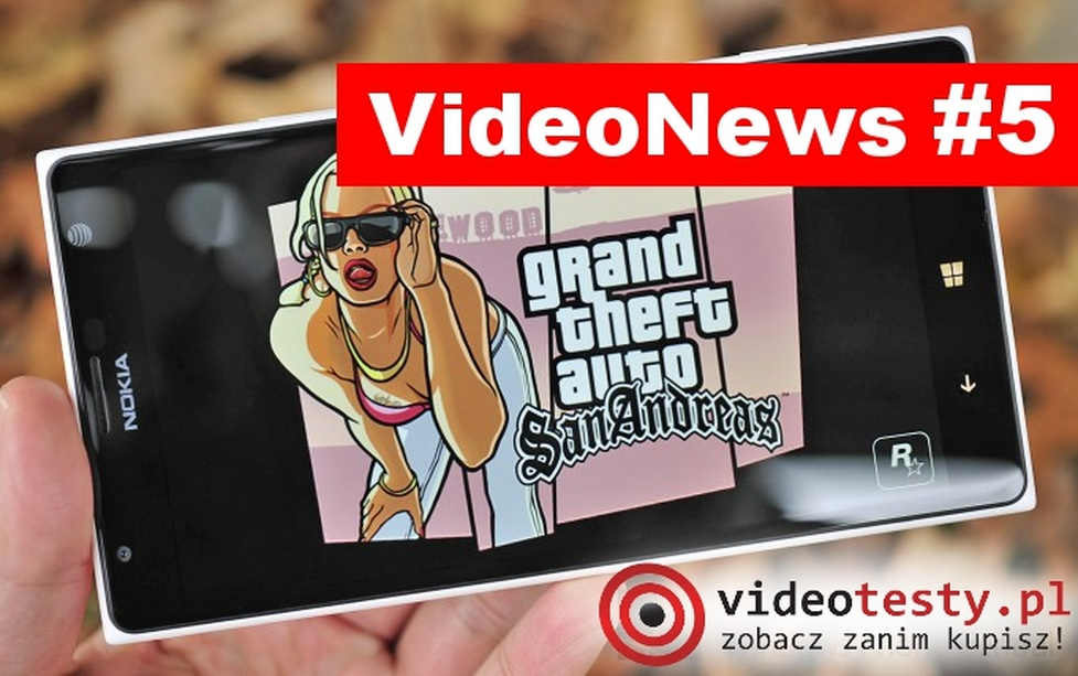 VideoNews #5 - Mobilne wersja Grand Theft Auto San Andreas