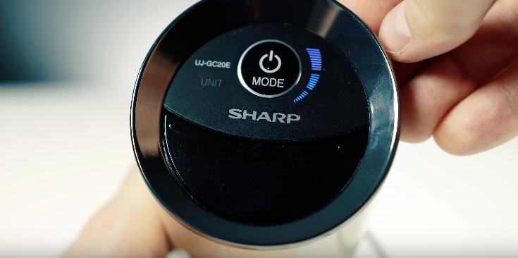 Funkcje oczyszczacza powietrza Sharp UJ-GC20