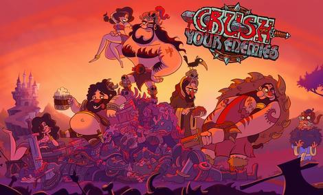 Recenzja Crush Your Enemies - Super Gra Na Wakacyjną Nudę!
