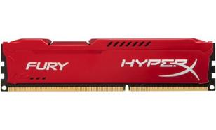 Kingston HyperX FURY Red DDR3 DIMM 4GB 1600MHz (1x4GB) HX316C10FR/4
