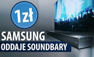 Samsung rozdaje soundbary za złotówkę - Do telewizora