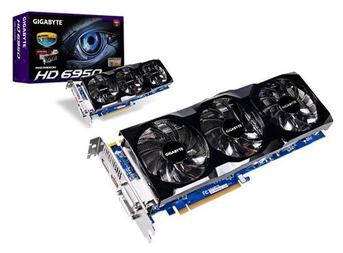 Gigabyte Radeon 6950 1 GB OC