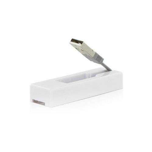 4World Czytnik kart flash USB MS/M2/SD/microSD/MMC biały