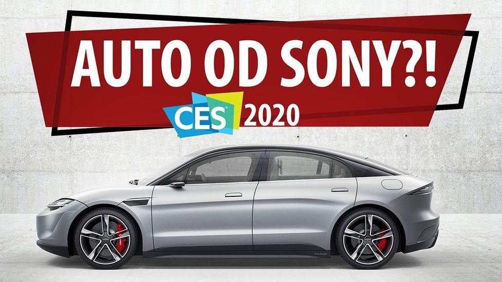 Oto Vision-S - Samochód od Sony na CES 2020