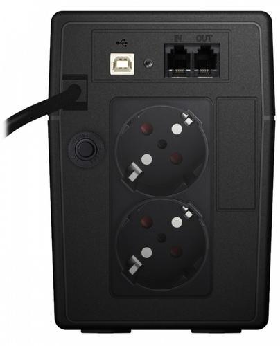 Lestar UPS V-655S AVR LCD GF 2xSCH USB RJ 11