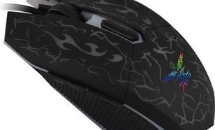 Vakoss X-ZERO 2400dpi Gamingowa (X-M339K)