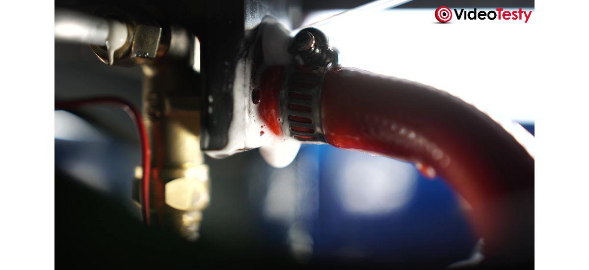 próba szczelności przewodu w piecyku gazowym